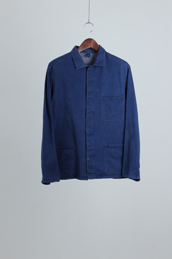 French Denim Work Jacket