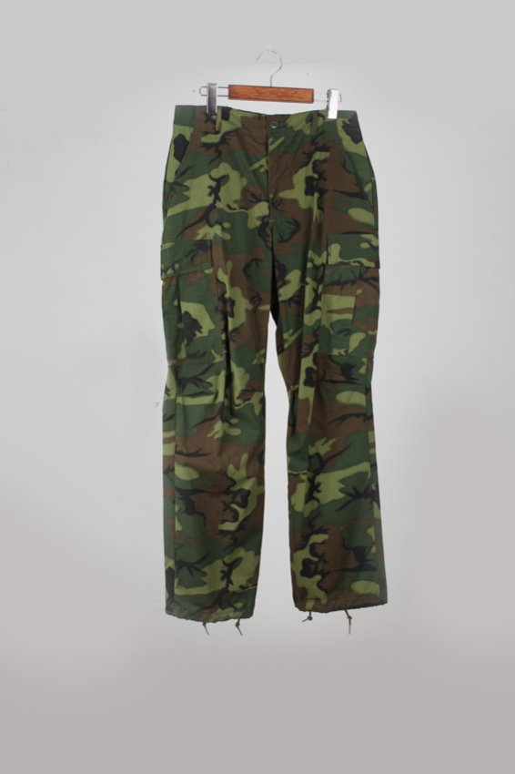 (Dead Stock) 60s ERDL Pattern jungle fatigue pants