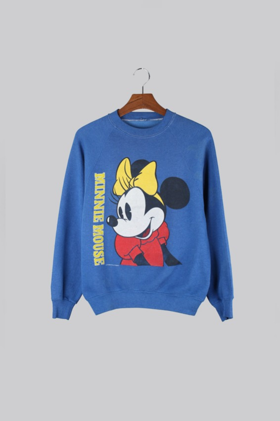 80s Mickey Mouse printed Vintage sweat shirt
