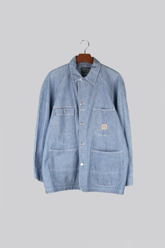 80s Polo Country HBT chore coat (M)