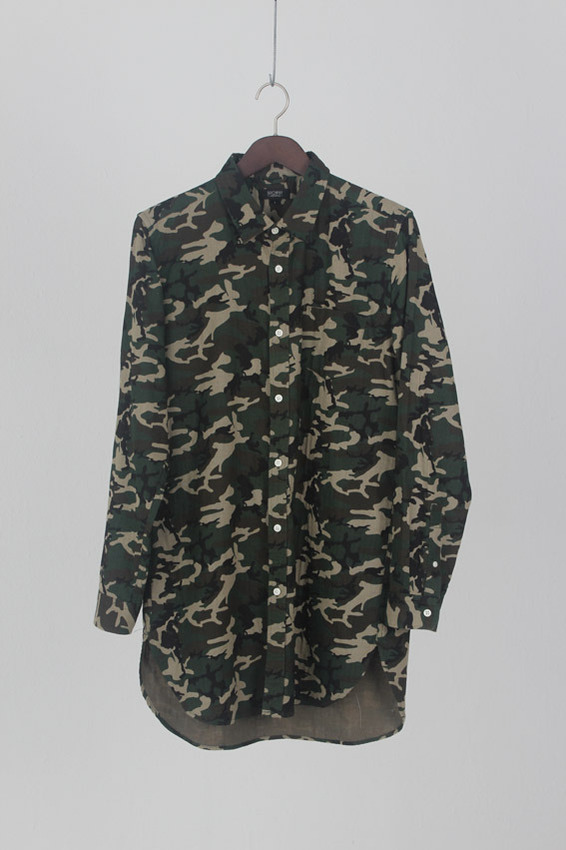 Browny Camouflage long Shirt