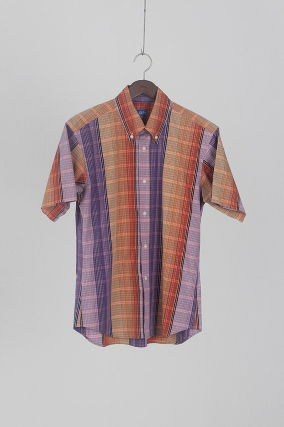 Abahouse 1/2 Check Shirt
