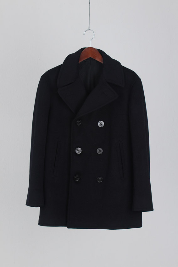 us navy 60's peacoat