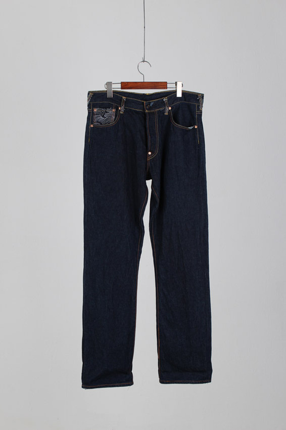 Funky Monks Stitchwork Selvedge Denim