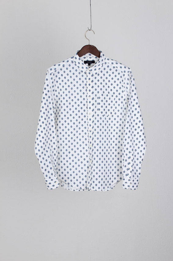 Regeblue Dot Pattern Shirt