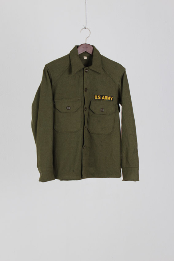 US Army Wool Shirt (S)