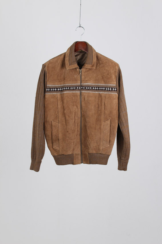 Challenger Suede Leather Jacket