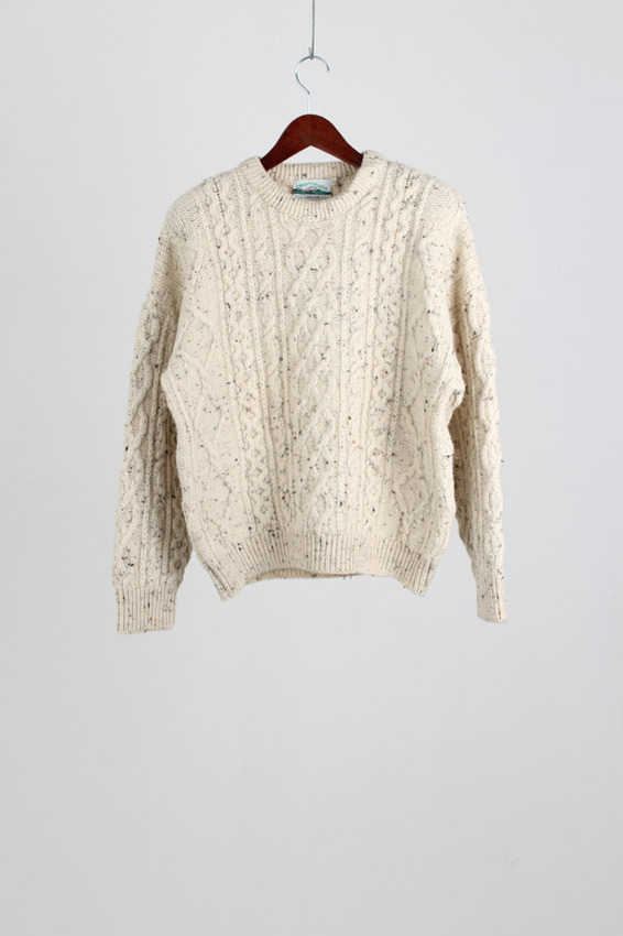 Aran crafts Merino Wool Sweater (S)