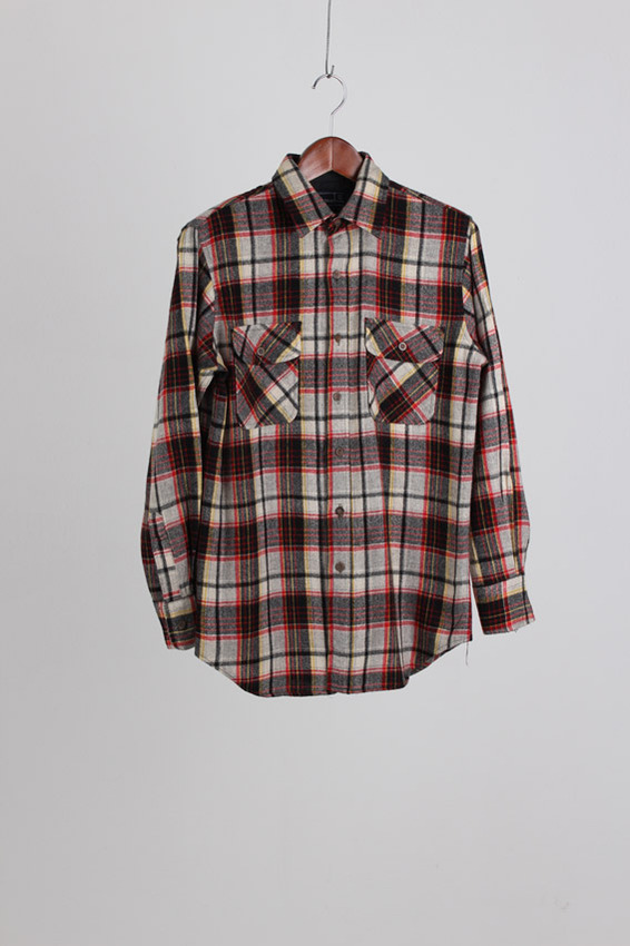 JCPenney Wool Check Shirt (M)