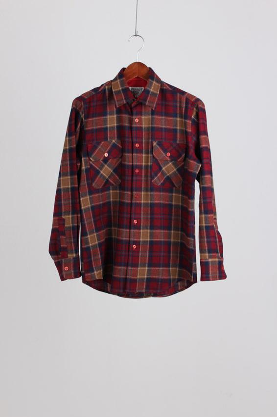 PenField Wool Check Shirt (M)