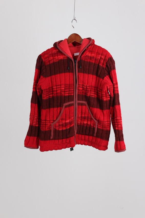 Wool Zip-up Jacket (M)