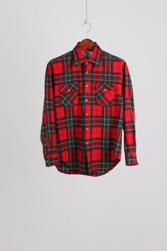 80's Montgomery Ward Wool Shirt (L)