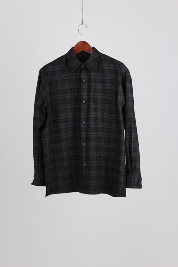 Eddie Bauer Check Wool Shirt (M)