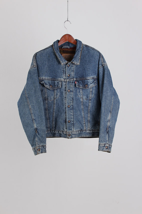 70's Levi's Sherpa With blacket Jac (L)