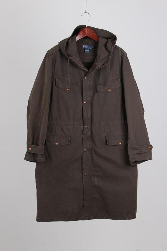 Ralph Lauren Oxford Cotton Coat (M)
