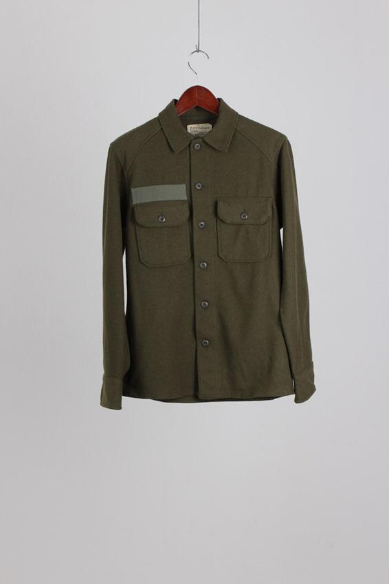 70's OG-108 Wool Shirt (S)