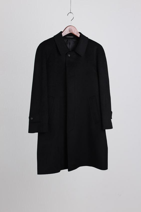 Giuliano Grossoni Balmacaan Cashmere Coat