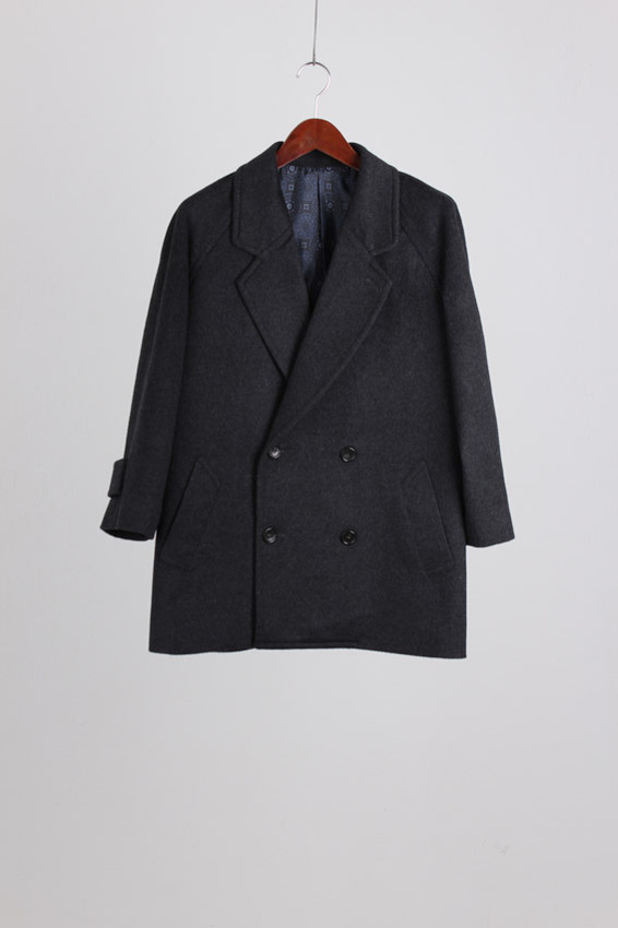 Carlo Legatini Double breasted Cashmere Jacket (S)