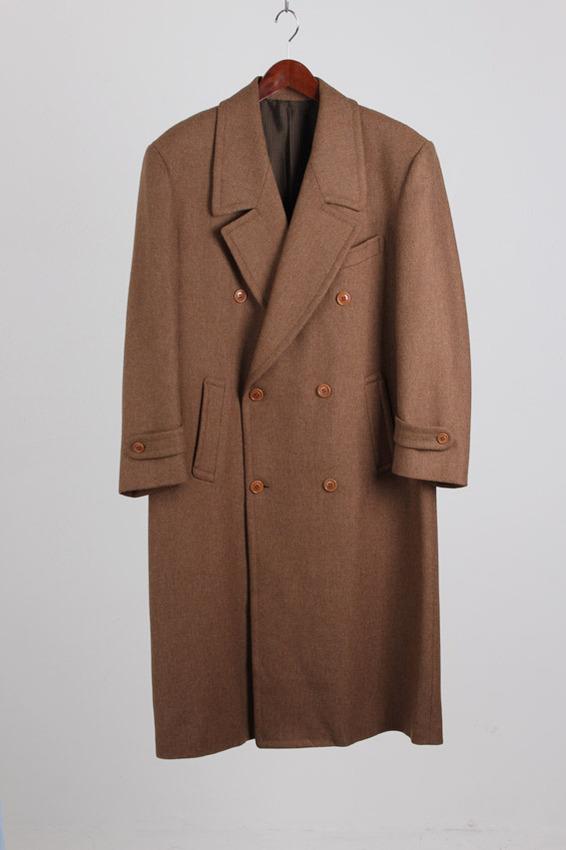Kenzo Double breasted Wool Coat (105)