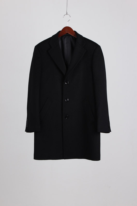 Blue Froct Wool Chester Coat (L)
