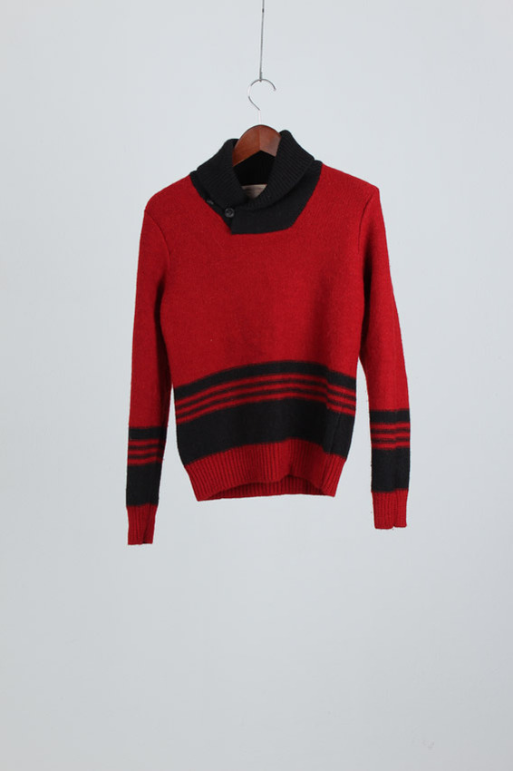 Double RL Wool Knit (XS)
