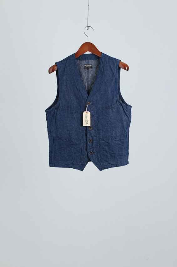 Sugarcane Denim Vest (new)