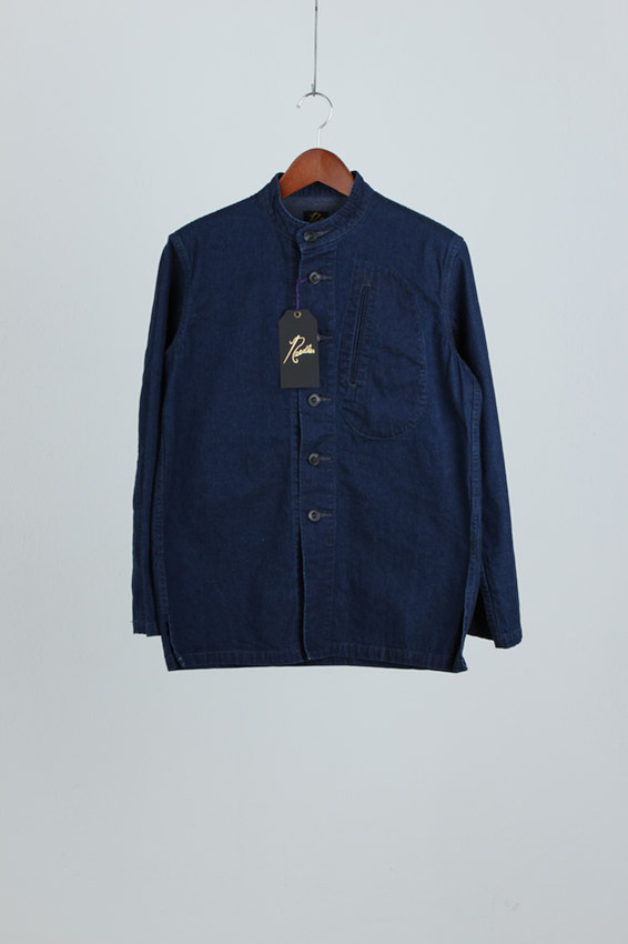 Needles Henlyneck Denim Shirt (new)