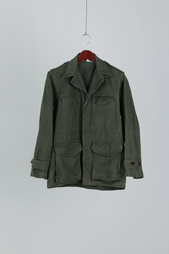 France Military Field Jacket (M)