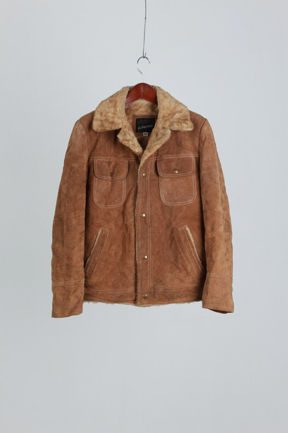 60's JCPenney Cowhide Suade Jacket