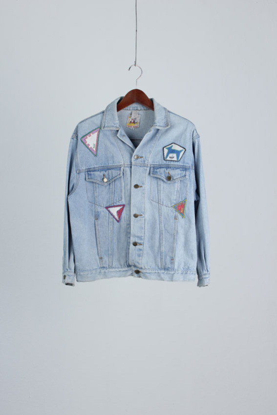 NAF-NAF Denim Patch Jacket (M)