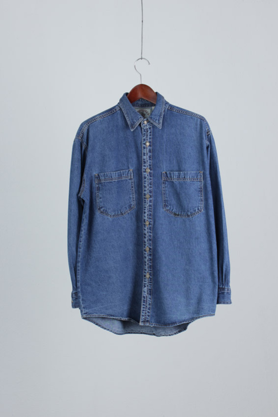JAVOLIS Denim Cotton Shirt (M)