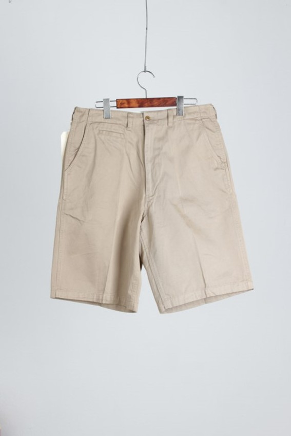 CABCLOTHING Cotton Khaki Trousers (32X11)