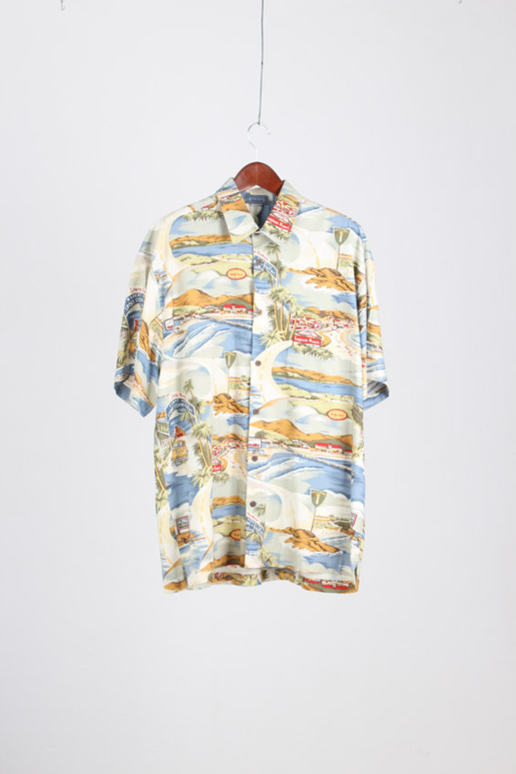 HIGH SEAS Aloha Shirt (XXL)