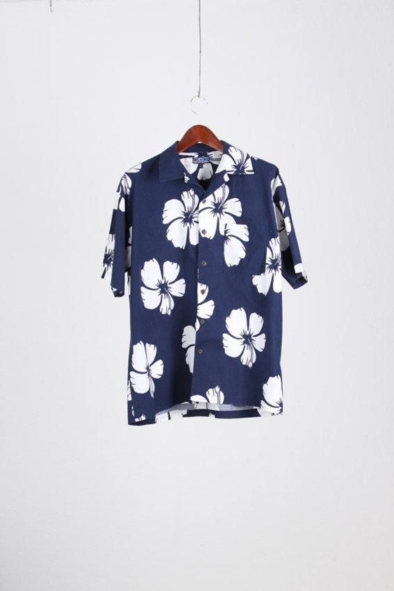 PACIFIC SCENE Aloha Shirt (XL)