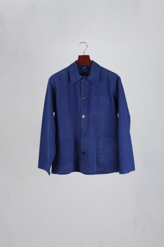 60s French HBT work jacket