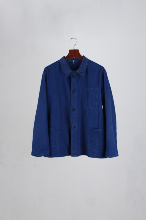 50s French HBT Work Jacket (54)