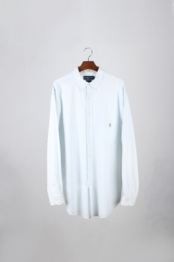 Ralph Lauren chambray shirt (XLT)