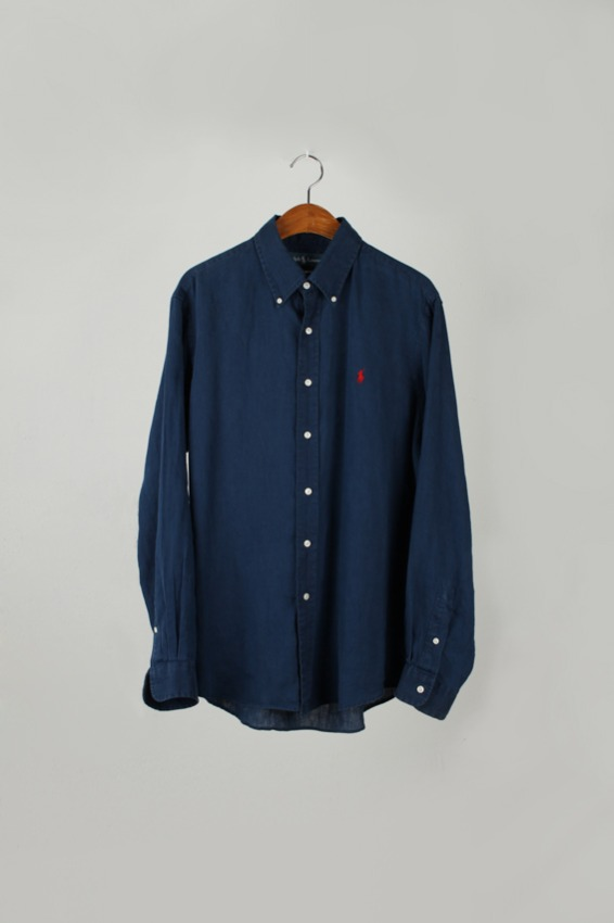 Ralph Lauren Button Down Linen shirt (L)