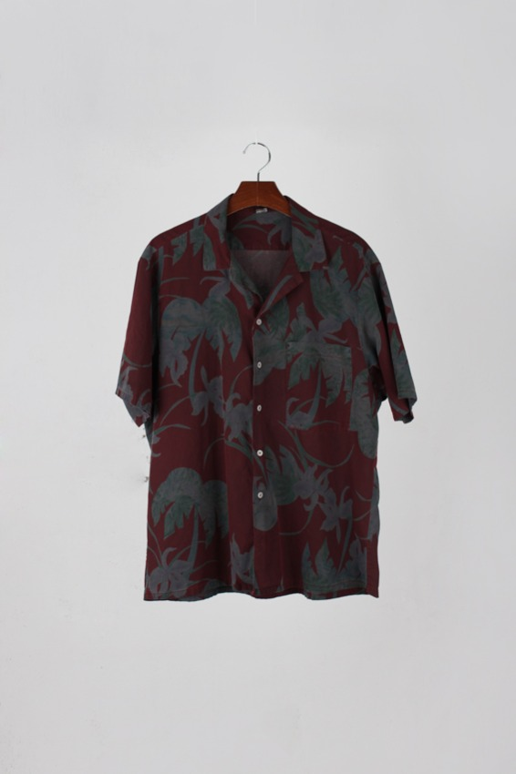 Pigment Dying Custom Hawaiian Shirt (XL)