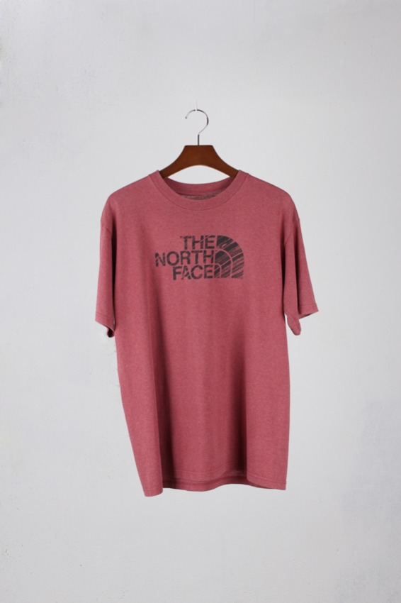 vtg.Northface 1/2  T-shirt (-)