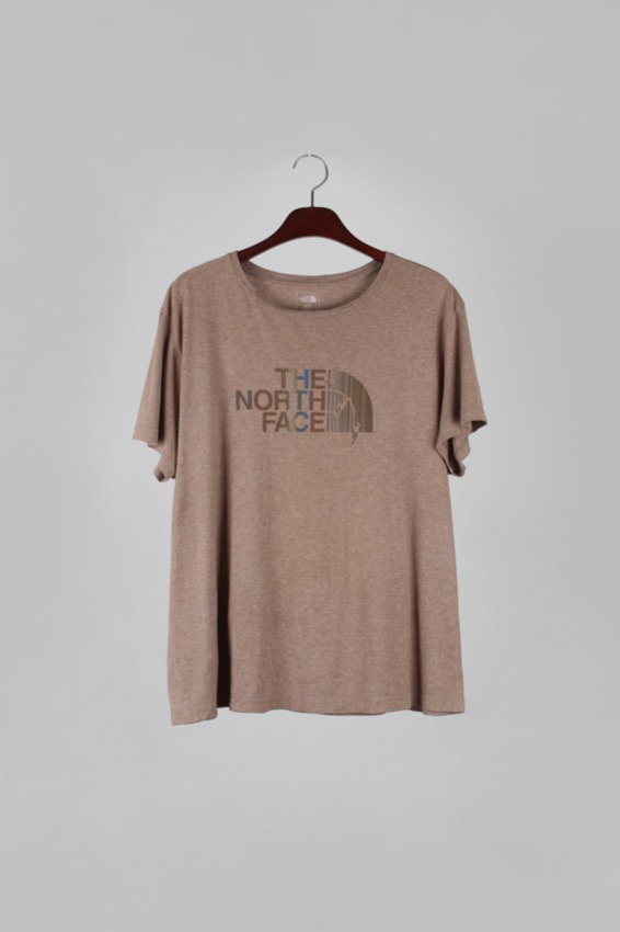 Vintage North face 1/2  T-shirt (L)