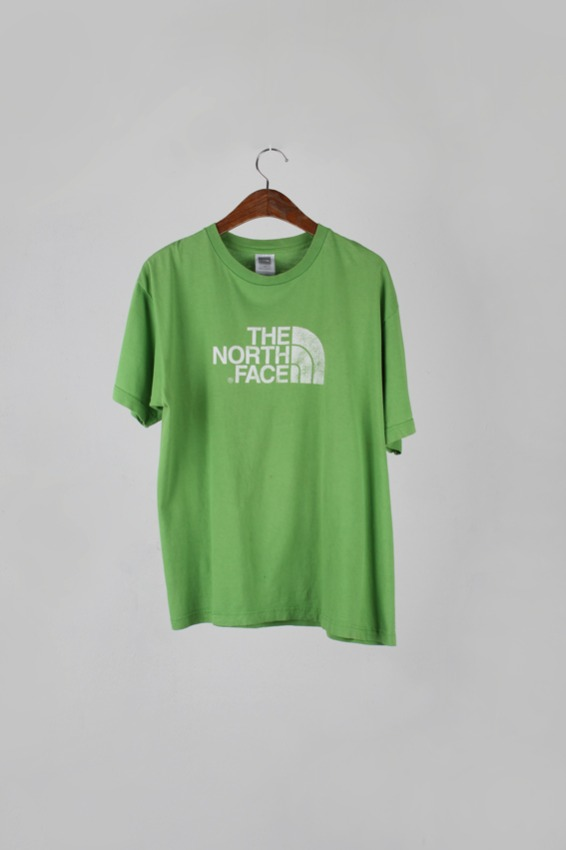 Vintage North face 1/2  T-shirt (M)