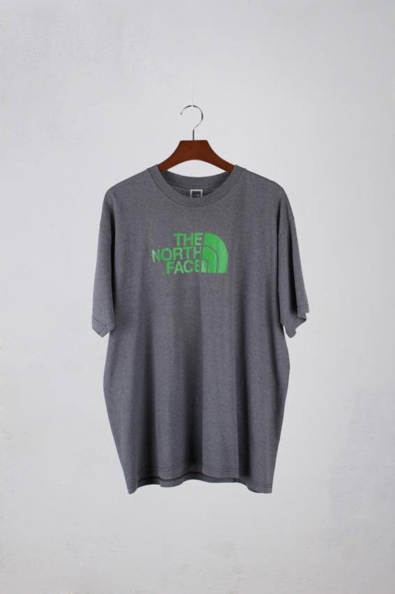vtg.Northface 1/2  T-shirt (XL)