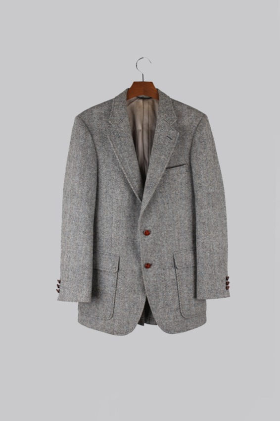 Harris Tweed Wool Tweed Jacket