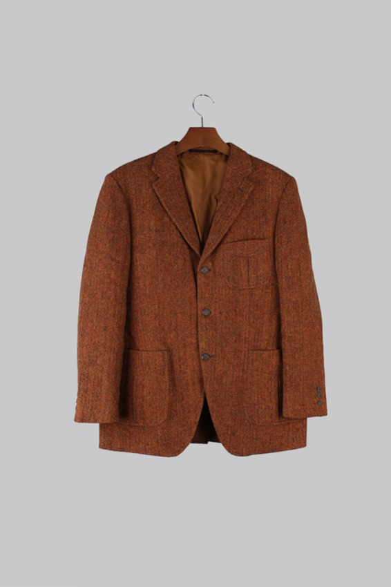 Pikeman Tweed Wool Tweed Jacket