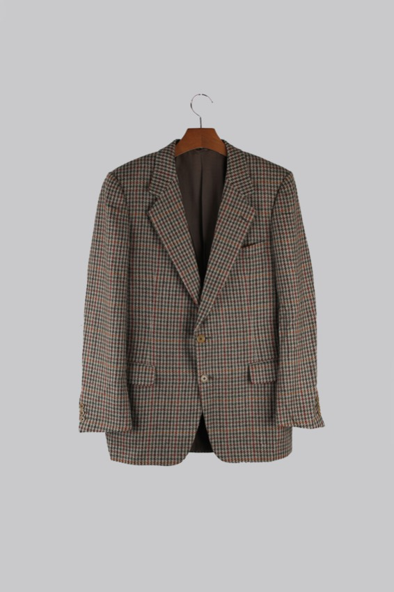 Burberrys Tweed Wool Tweed Jacket