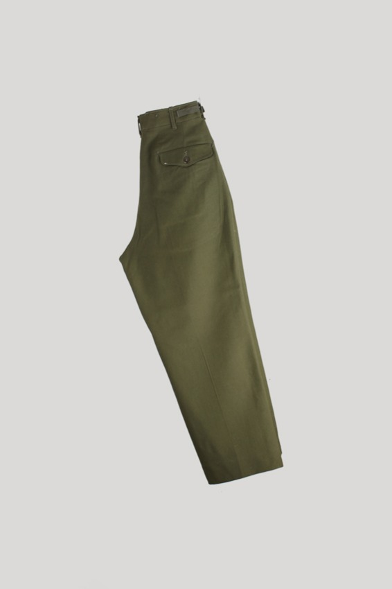 50s U.S army M-51 Wool Pants (Small-Short)