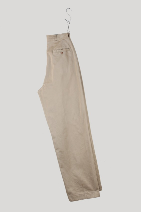 50s US Army Officer Khaki Trousers (28×33)