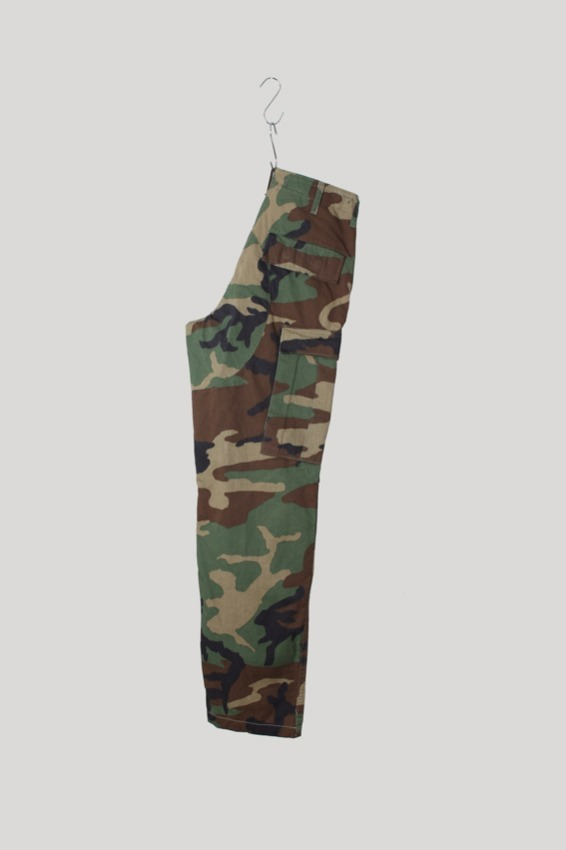 80s Woodland BDU Combat Trousers (XS-R)