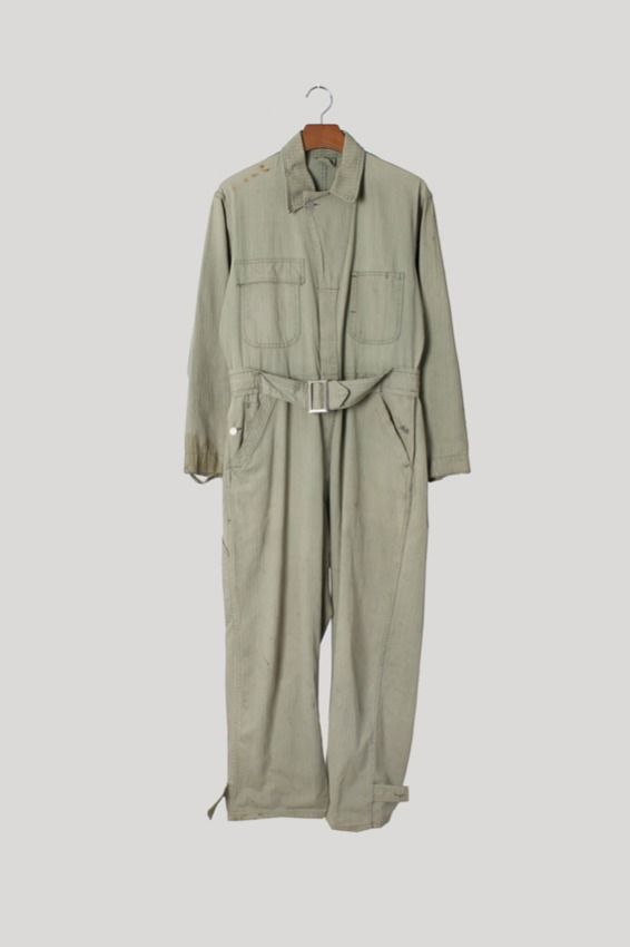 40s USN Mechanic HBT Coverall Suit (95)